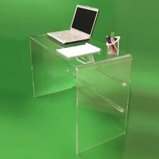 Clear Acrylic Plastic Table, Desk, Dressing Table Quality Made In The UK
