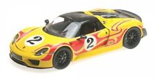 1 18 Minichamps Porsche 918 Spyder with Weissach Package 2015