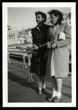 New listing Antique Photo Black Women Ocean Grove New Jersey Nj African American 1942