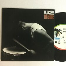 "U2 Desire , Hallelujah Here She Comes Like New OZ 7"" Picture Cover Single"
