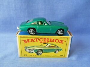 Moko Lesney Matchbox 75b Ferrari Berlinetta - Mint in Original Box - 1965.