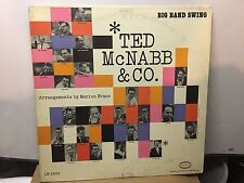 TED McNABB - Big Band Swing ~ EPIC 3663 {dg orig} w/SIMS, PIERCE, COHN, GREEN