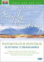 Frank Clarke Simply Painting - Watercolours - 3 DVD SET [DVD][Region 2]