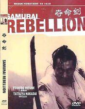 Samurai Rebellion All Region DVD Toshiro Mifune, Tatsuya Nakadai NEW UK R2