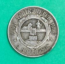 1896 - SOUTH AFRICA ZAR - Silver Florin Two Shillings - Fine - SN9859
