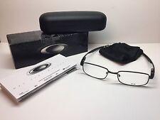NIB Oakley Rudder Satin Black Frames 52/17/139 Rx Eyeglasses OX3171-0352