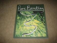 Pure Bentley Magazin Mulsanne, Continental Supersports Prospekt Brochure DEUTSCH