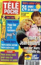 TELE POCHE N°1846 loana jean-edouard monica bellucci beatrice dalle 2001
