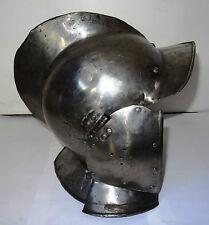 RARE CASQUE MEDIEVAL - BOURGUIGNOTTE - 1580 AD - A SOUTH GERMAN BURGONET