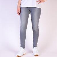Levi's 535 Super SKinny Tossed Smoke Damen Grau Jeans DE 32 / US W25 L30