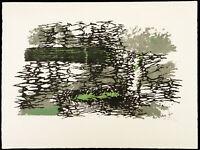 Informel, 1958. Farblithographie von Hann TRIER (1915-1999 D), handsigniert