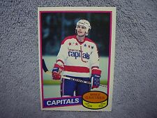 Mike Gartner RC 1980-81 OPC O-Pee-Chee Card #195 Washington Capitals NICE! VHTF
