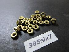 25 Pcs Brass Screw Nuts - M3 Thread