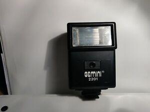 Vintage Gemini 2201 Camera Flash (CosCam203)