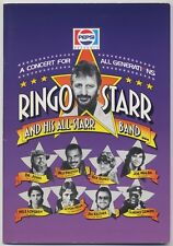 Ringo Starr & His First All-Starr Band - Live In Japan JAPAN PROGRAM Oct-Nov '89