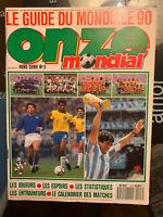 RARE FOOTBALL ONZE MONDIAL HORS SÉRIE 3 SPÉCIAL MONDIALE 90 ITALIE