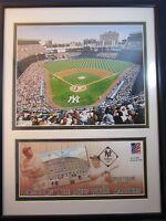 New York Yankees Yankee Stadium Philatelic Envelope Cover Photo April 5 2002