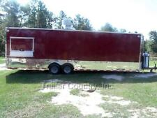 NEW 8.5 X 30 8.5X30 Enclosed Concession Food Vending BBQ Trailer FULL Equipment