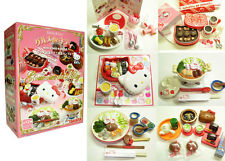 Takara Re-ment Style Hello Kitty Miniature Gourmet de Kitty Set~Full Version~NIB