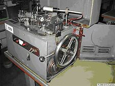 Small Theodore Bechtold Germany Curb Chain Making Machine New 1967