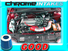 RED BLUE 02 03-05 CHEVY CAVALIER/PONTIAC SUNFIRE 2.2L ECOTEC AIR INTAKE KIT TB