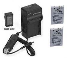 2 EN-EL5 Batteries + Charger for Nikon P3 P4 P80 P90 P100 P500 P510 P5000 P5100