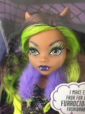 Monster High CLAWDEEN WOLF Kohls EXCLUSIVE Fashion Doll Werewolf Killer Style !!