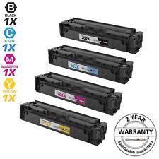 4PK Comp Laser Toner Cartridge for HP 202A Black Cyan Magenta Yellow M254dw 202