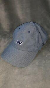 Vineyard Vines whale Lacrosse Hat cap Adjustable Trucker
