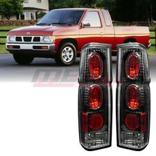 Winjet Factory Fit For 1986-1997 Nissan Pickup D21 Brake Tail Lights Black