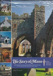 Isle of Man 2004 Story of Mann Year Book Manx Heritage & Stamps for year