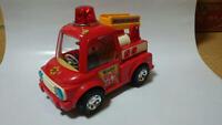 Mokkuri Fire Engine Nomura Toy T.N Vintage Retro Old Toy JAPAN