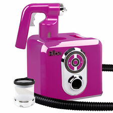 Alba. SPRAY TAN MACHINE Kits Professional HVLP Gun Sunless Pink Tanning Sprayer