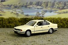 R&L Diecast: Schabak BMW 535i Taxi Cab, Boxed, Cream/Off-White