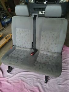 Vw transporter t5 quick release rear seats with seatbelts and floor brackets