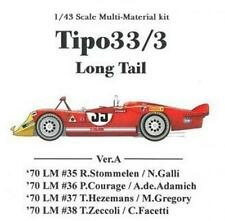 MFH Model Factory Hiro 1/43 Tipo33/3 Long Tail Ver.A  K-474 Multi-material kit
