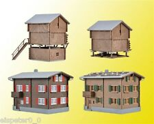 H0 Set Walser Village Model World Bausatz 1:87, Kibri 39495