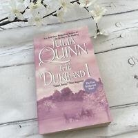 The Duke And I BRIDGERTON Series 1st Book Julia Quinn Simon & Daphne 2000 print