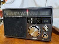 VINTAGE Panasonic, FM-MW-SW 3-Band Receiver Radio RF-1403JBS, Matsushita,