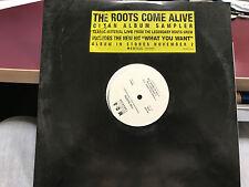 "THE ROOTS COME ALIVE CLEAN LP SAMPLER 12"" 1999 MCA 4439 DJ PROMO"