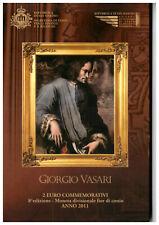 San Marino 2011, 2-Euro-Gedenkmünze, 500. Geburtstag von Giorgio Vasari