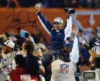 Tony Dungy Jsa Coa Autograph Hand Signed 8x10 Colts Photo