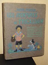 LES AVENTURES DE FRICASSON - Marcel Jeanjean - 1925 - + 1 DÉCOUPAGE