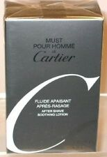 MUST POUR HOMME DE CARTIER FLUID APAISANT AFTER SHAVE SOOTHING LOTION - 100 ml