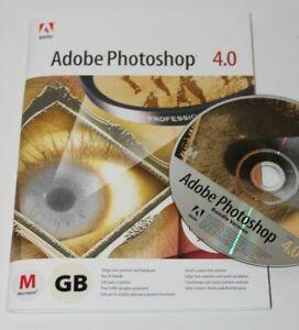 Adobe Photoshop 4.0 - Deutsch - Macintosh - inklusive MwSt