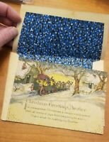 Vintage /Antique Christmas Card for Brother early 1900s  NOS