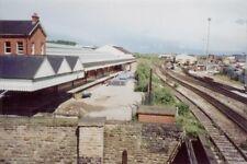 PHOTO  LONDON ROAD LOW LEVEL RAILWAY STATION NOTTINGHAM 2000