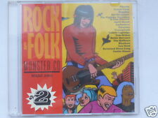 ROCK & FOLK  MONSTER CD  VOL.2, 16 TITRES, TRES BON ETAT