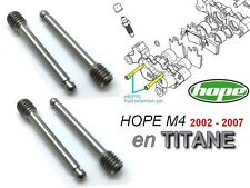 HOPE: 4 pins M4 brake pads since 2002. 43% lighter & 5 times less heat transfer