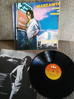 """MANZANITA TALCO Y BRONCE LP VINYL VINILO 12"""" 1981 G+/VG CBS EDICION ESPAÑOLA"""
